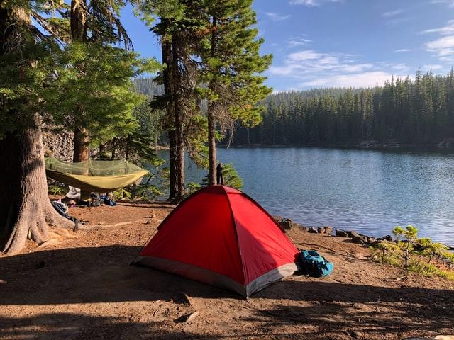 バイクパッキング、自転車キャンプ、キャンプツーリング テント