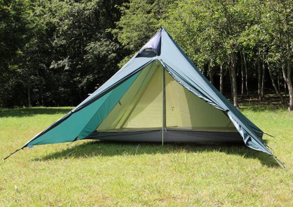 テンマクデザイン パンダ ライト 自転車キャンプ テント