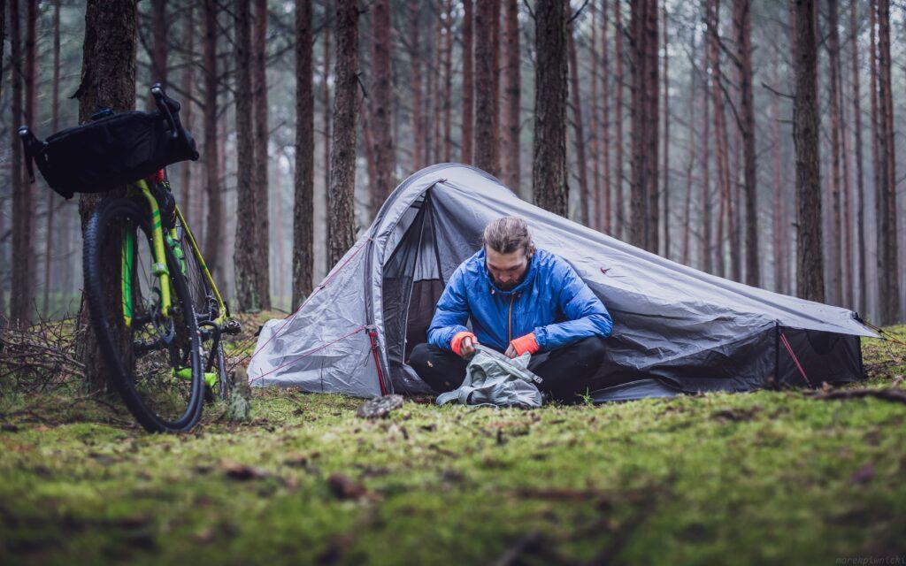 バイクパッキング 自転車キャンプ キャンプツーリング