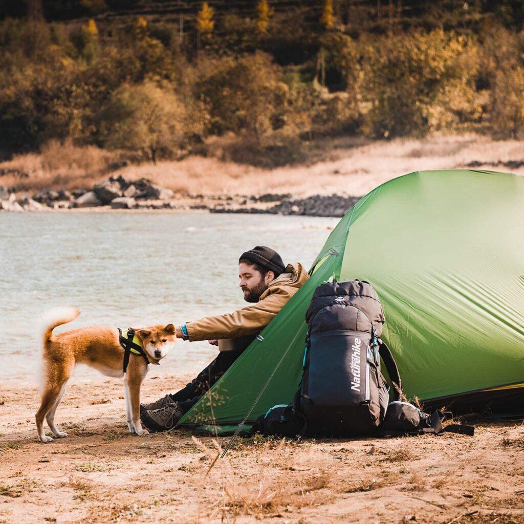 バイクパッキング、自転車キャンプ、キャンプツーリング ネイチャーハイク Naturehike