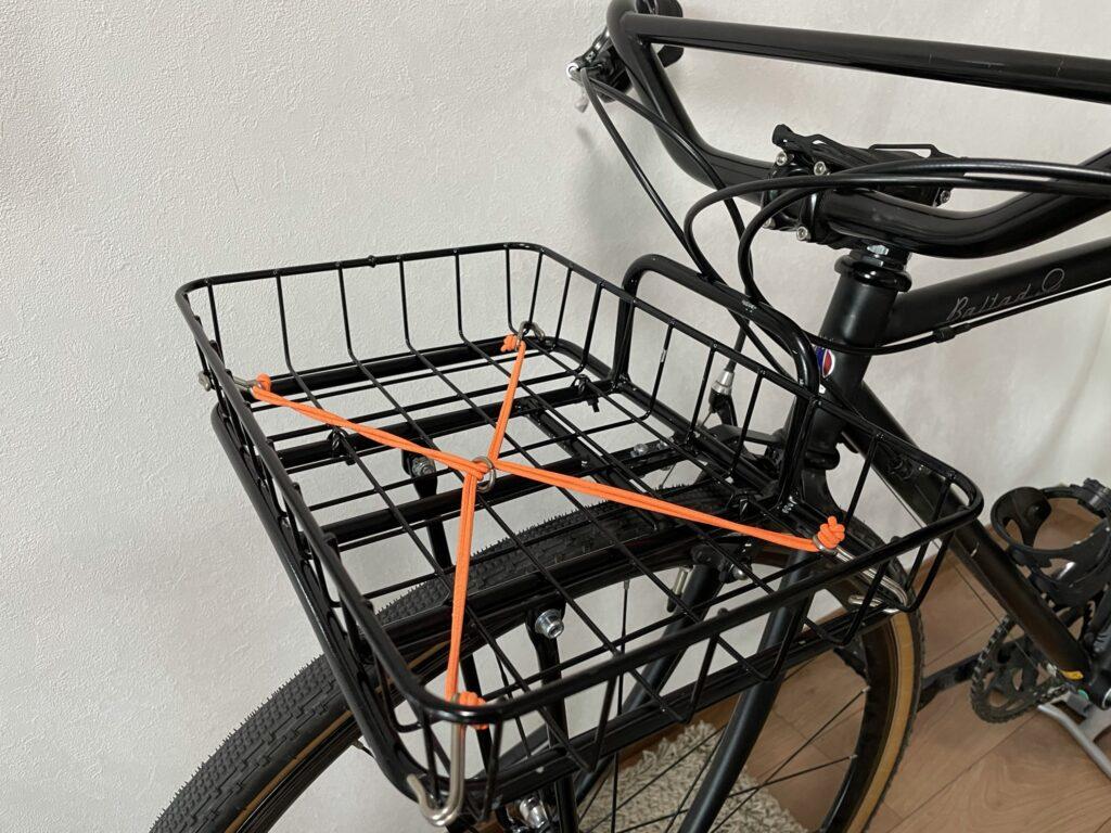 バイクパッキング、自転車キャンプ、キャンプツーリング、ADEPT、アデプト、フロントラック